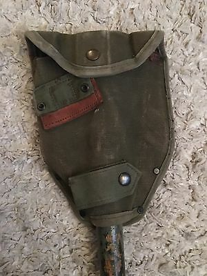 WW2 US Military Entrenching Tool, 1945 Dated (AMES Stamped) Memorabilia