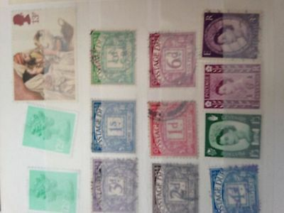 GB UK early victoria & kings incl unchecked penny red plates & on paper pmks !