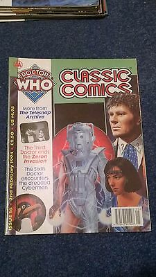 doctor who classic comics - ISSUE 16 (with telesnaps)
