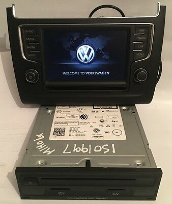 VW Polo 6C Discover Media 3Q0035874 6C0919603A Navigation Navi DAB MIB Bluetooth