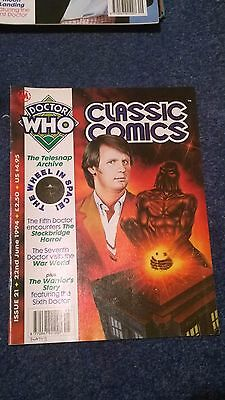 doctor who classic comics - ISSUE 21 (with telesnaps)