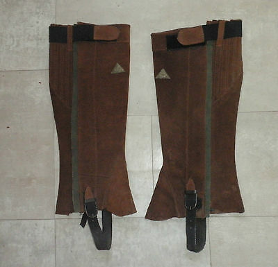 Mountain Horse Suede Leather Chaps