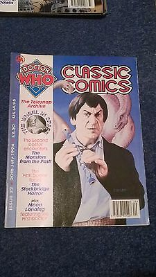doctor who classic comics - ISSUE 22 (with telesnaps)