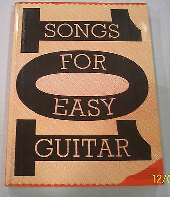 101 Songs For Easy Guitar Book