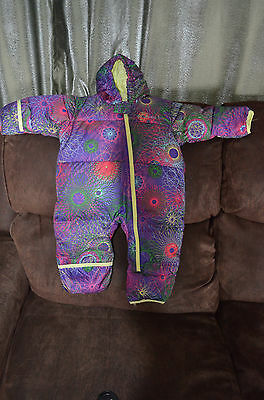 New COLUMBIA Infant 12 months Snuggly Bunny Down Bunting