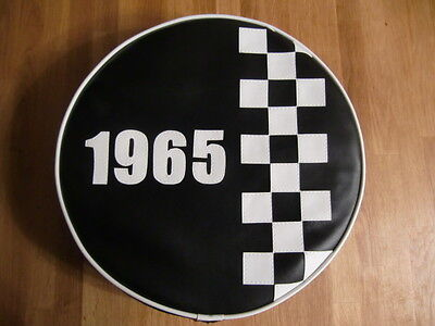 Check stripe any year, any colour Scooter Wheel Cover
