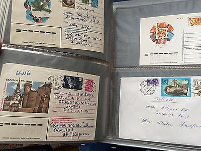 Russia first day cards and covers including blocks on FDC in album