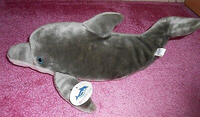 Discovery cove dolphin soft toy/ cuddly with tags