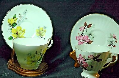 Regency / Royal Grafton  Magnolia  Cups and Saucers -2