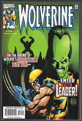 US Comics, Wolverine #144, Nov 1999