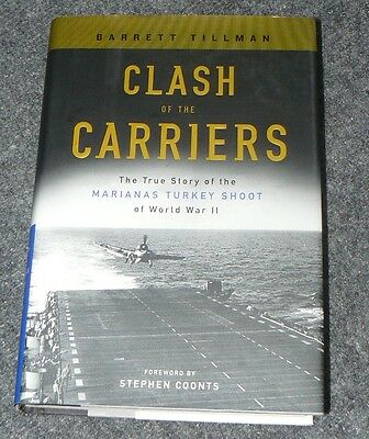 Clash of the Carriers by Tillman and signed by 5 aces