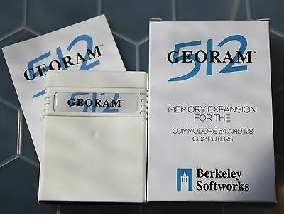 GEORAM 512 RAM Expansion Unit by Berkeley Softworks for Commodore 64 & 128 [03]