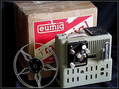 Eumig Imperial P8 Projector for Film.Vintage and Boxed