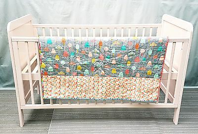 Bedroom set baby girl wardrobe cot and chest of draws