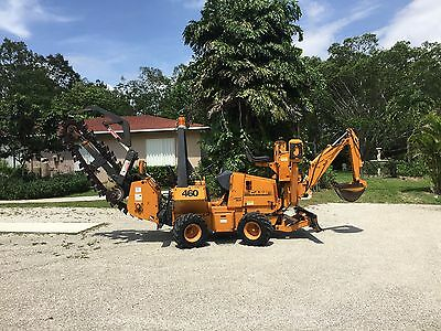 2000 Case 460 Trencher / Backhoe.