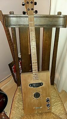 Cooper 4 string blues tenor guitar ( cigar box style )