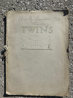 Rare Antique Twins (Chesley Chair Co) Furniture Catalog, C.1915, Canada, 32Pgs