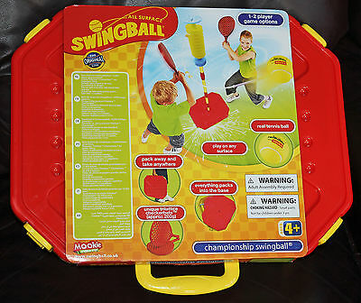 Mookie Championship All Surface Jr  Swingball Game Deluxe Set W/ Base New