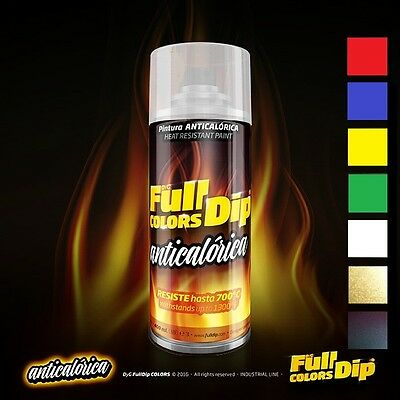 Spray Pintura Anticalorica Full Dip Varios Colores 400Ml