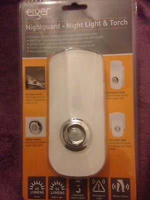 LED 3 in 1 Plug in Sensor, Light, Torch and Emergency Light