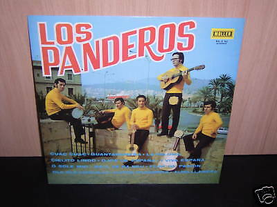 Los Panderos - Folk Group !  Folk - LP  aus Spanien