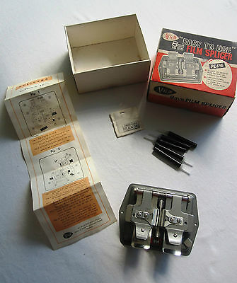 Arrow 8mm 16mm Film Splicer Joiner Vintage Boxed with Instructions