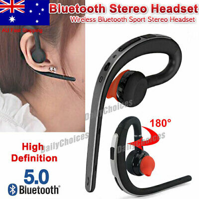 New 4.1 Bluetooth Headset Hands Free Handsfree for Smartphone iPhone Android