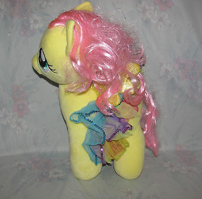 Build a Bear MLP My Little Pony Fluttershy Pegasus - Yellow, Skirt - Large 15""