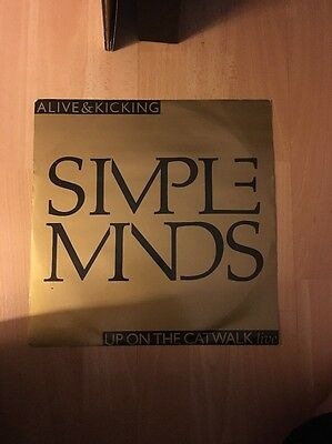 "Simple Minds Alive And Kicking 1985 UK 12"" Single"
