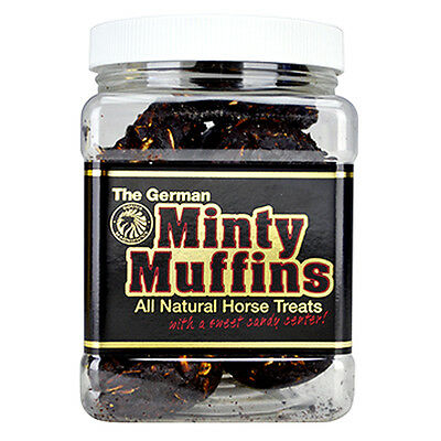 C-Equus Magnificus The German Minty Center Muffins Horse Treats 1Lb
