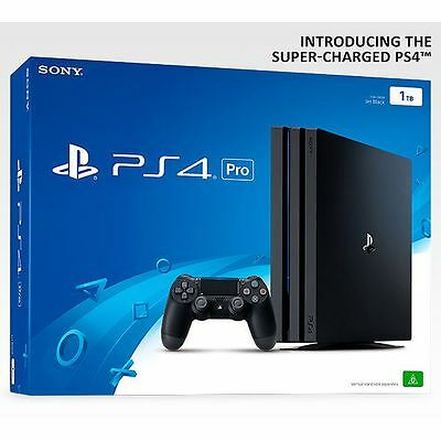 NEW PlayStation4 1TB Pro Console