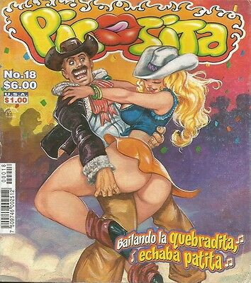 Picosita Mexican Comic #18 Mexico Spanish Spicy Historieta 2001 Sexy Girls