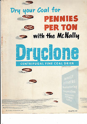 Dryclone Centrifugal Fine Coal Dryer.....      5 Page Brochure.