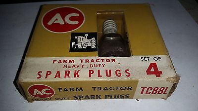 AC Spark Plug Farm Tractor TC88L nos set of 4 Brand new