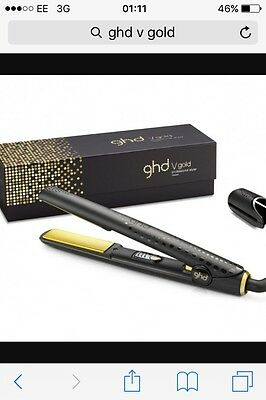 GHD Hair Straightener - V Gold Classic • New • Genuine • 2 Years Warranty