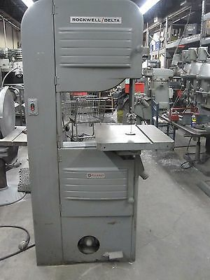 20  Rockwell #28-350 Wood Vertical Band Saw