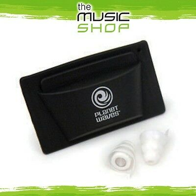 New Pair Planet Waves Pacato Full Frequency Earplugs - Reusable Ear Plugs PWPEP1