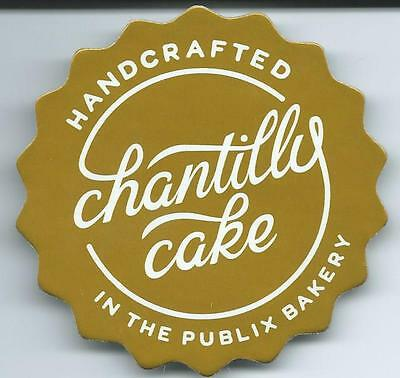 New Publix Pin/badge Handcrafted Chantilly Cake
