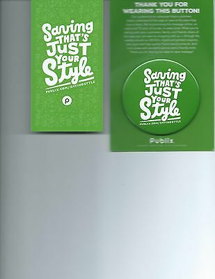 Publix Savings Style Pin / Button