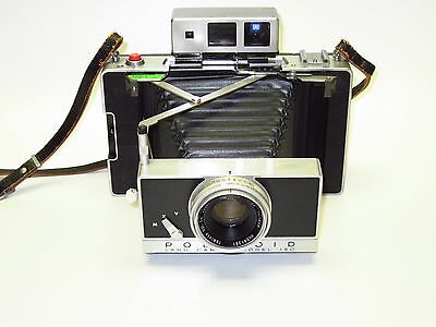 Excellent CLA'd & Film Tested Polaroid 180 Land Camera w/Tominon 114mm f4.5 Lens
