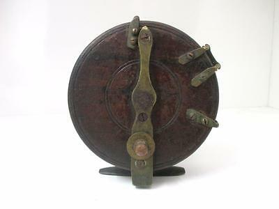 Vintage Wooden Fishing Reel