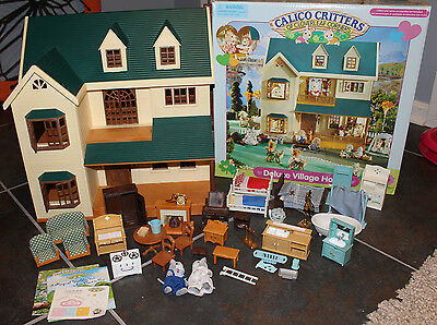 Calico Critters Deluxe Village House, Furniture, Figurines, Accessories!