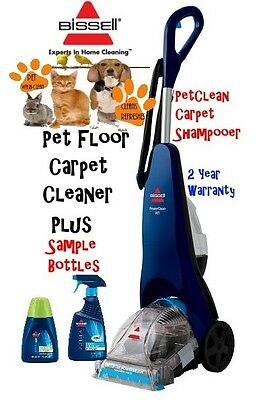 Bissell PowerClean Pet Powerbrush Stain Remover Carpet Cleaner -Shampooer 1285K