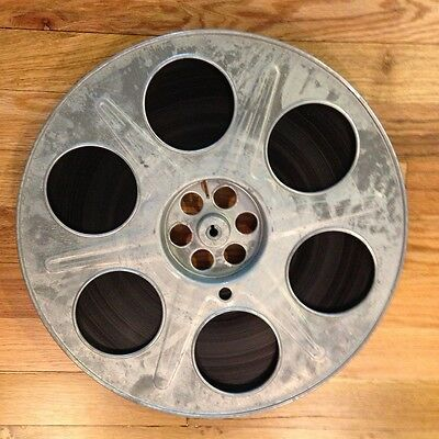 Vintage 35mm Movie Reel and Film