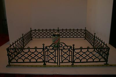 Antique Victorian Style Cast Iron Fence with Gate  LOT #2