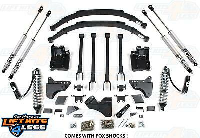 """BDS Suspension 596F 6"""" Coilover 4-Link Lift Kit for 2011-2016 Ford F-250/F350 SD"""