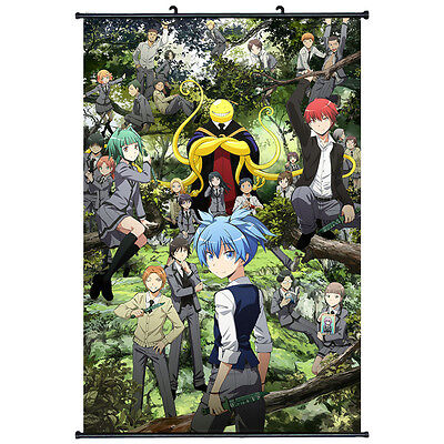Assassination Classroom Japan Anime Home Decor Wall Scroll Poster  66
