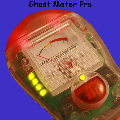 """Ghost Meter Pro EMF Sensor with 4-Modes by Technology Alternatives """"New in Box"""""""