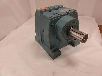 154303 Old-Stock, SEW R87A-KS Foot Mount Helical Gearbox, 41:74 Ratio