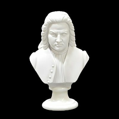 Bach Composer Bust /statue /figurine - 22Cm Crushed Marble